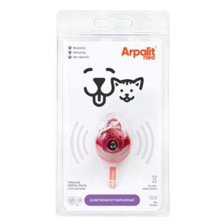 Elektr. odpudzovač kliešťov Arpalit Dog pre psov 1ks