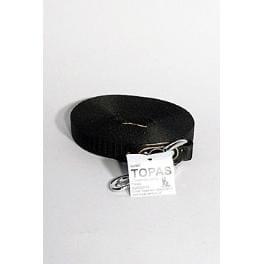 Vodítko nylon stopovací Ploché 10m/16mm Černá 1ks