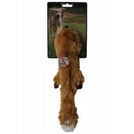 Hračka pes Líška pískacia 38cm Skinneeez