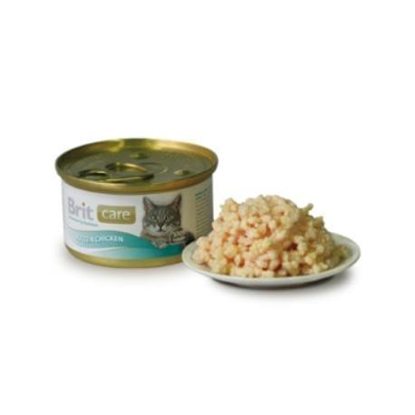 Brit Care Cat konz.kuracie prsia 80g