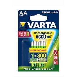 VARTA Baterie Rechargeable Accu AA 2600 mAh R2U 2ks