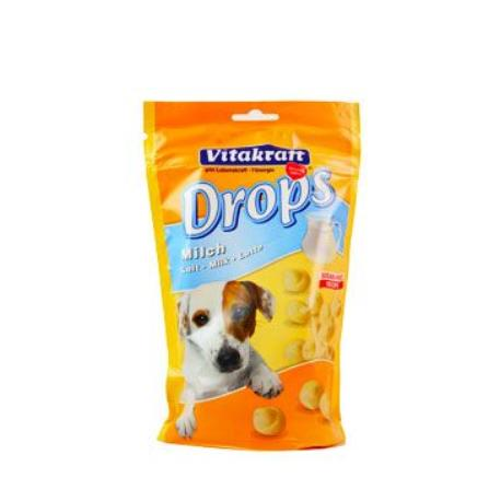 Vitakraft Dog pochoutka Drops Milk 200g