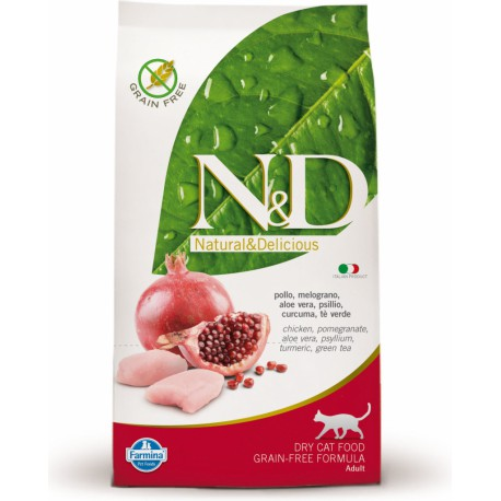 N&D Grain Free CAT Adult Chicken & Pomegranate 10kg