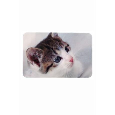 Prostírání pro kočku pod misky s fotkou kočky 43x28cm*