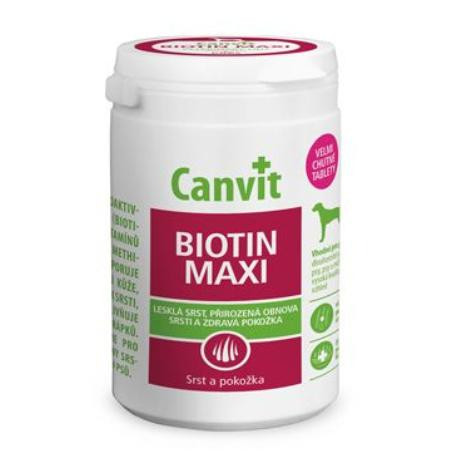 Canvit Biotin Maxi pro psy 500g new