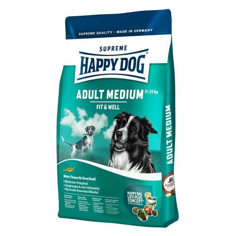 happy dog supreme adult fit well medium. Black Bedroom Furniture Sets. Home Design Ideas