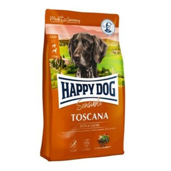 happy dog supreme sensibletoscana duck salm 4kg. Black Bedroom Furniture Sets. Home Design Ideas