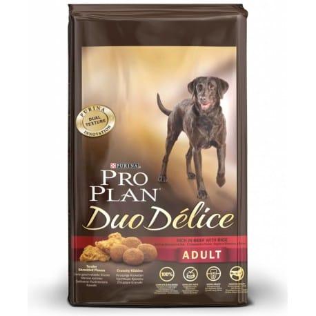 Pro Plan Duo Delice Small and Mini сухой корм собак мелких и карликовых пород (с говядиной и рисом)