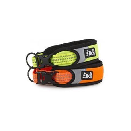 Obojek Hurtta Lifeguard Dazzle 45-55cm oranžový