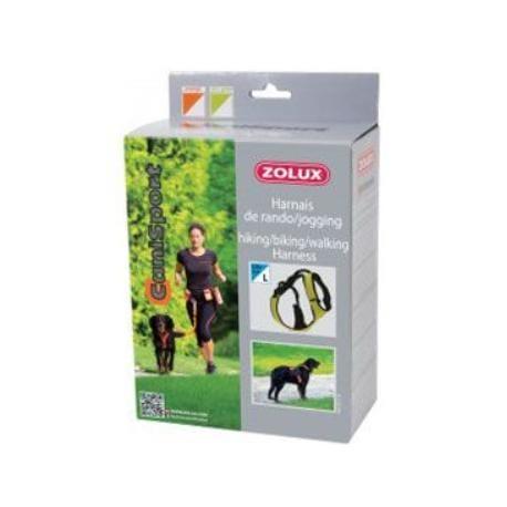 Postroj CANISPORT Jogging oranžová L Zolux