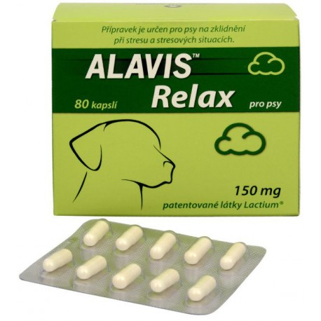 Alavis Relax pre psy 150mg 80cps