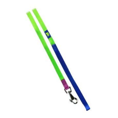 Vodítko nylon CLUB G 10mmx120cm zeleno-modré FP 1ks