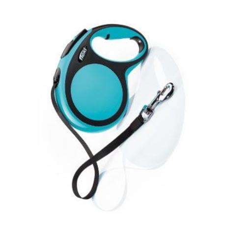 Vodítko flexi Comfort L pásek 8m/50kg modrá