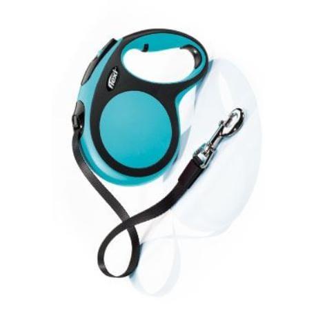 Vodítko flexi Comfort L pásek 5m/60kg modrá