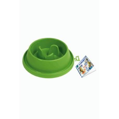 Miska plast proti hltání Zelená velká ARGI