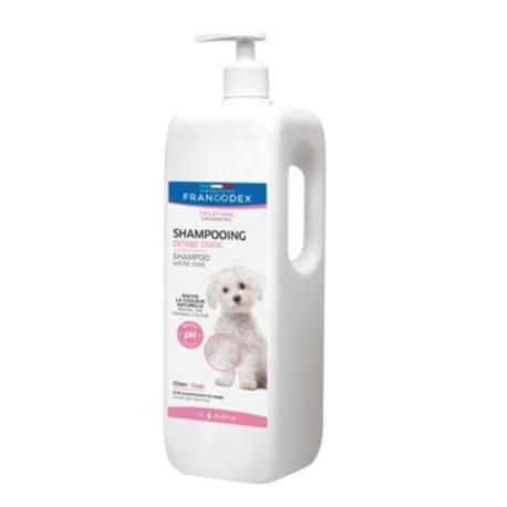 Francodex Šampon bílá srst pes 1L