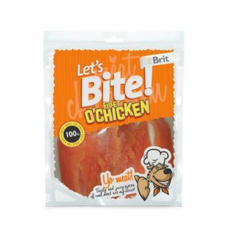 Brit pochoutka Let's Bite Fillet o'Chicken 400g NEW