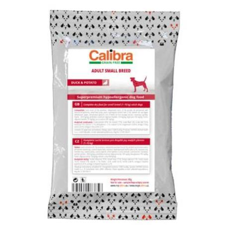 Calibra Dog GF Adult Small Breed Duck 80g - vzorek NEW