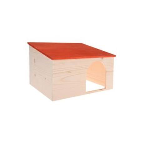 Domek pro hlodavce HUT PLUS dřevěná XL Zolux