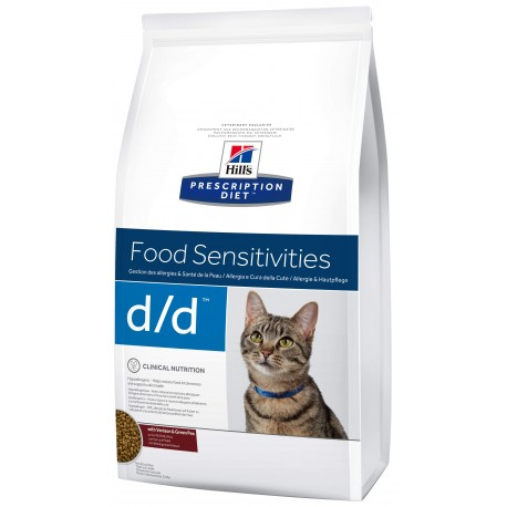 Hill's Fel. D/D Dry Venison&Green Pea 1,5kg