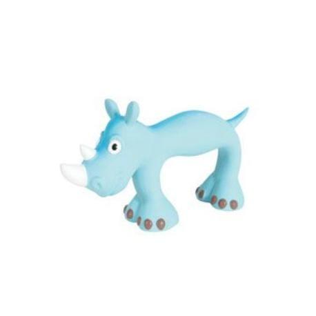 Hračka pes SLIM latex 22cm modrá Zolux