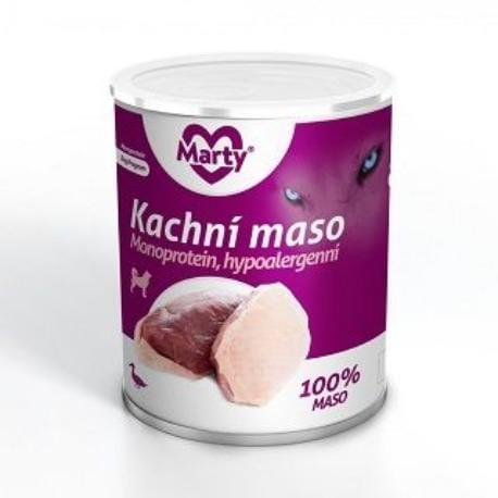 Marty konzerva 100% masa - monoprotein kachní 800g