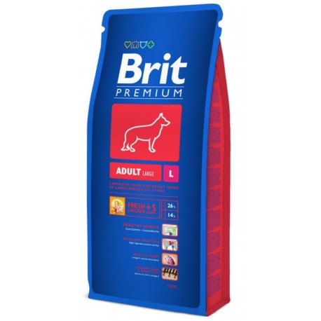 Brit Premium Dog Adult L 15kg