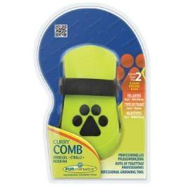 FURminator kefa masážna Curry Comb pre psov 1ks