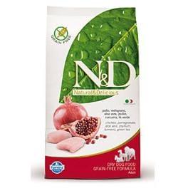 N&D GF DOG Adult Chicken & Pomegranate 800g