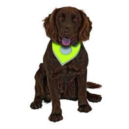 Šátek na krk reflex Safety Dog 48-60cm Žlutý KAR 1ks