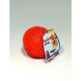 Hračka pes Koule ježatá vinyl 10cm TR 1ks