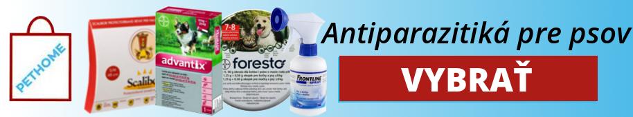 Antiparazitiká psy