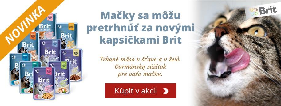 Brit Premium Cat kapsičky NOVINKA