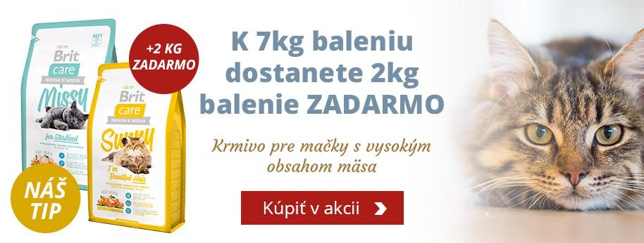 Brit Care Cat 7kg + 2kg ZADARMO