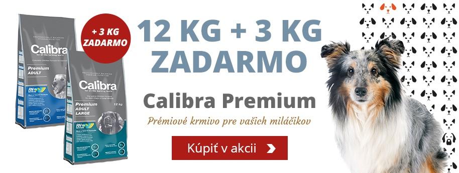 Calibra Premium 12kg +3kg ZADARMO