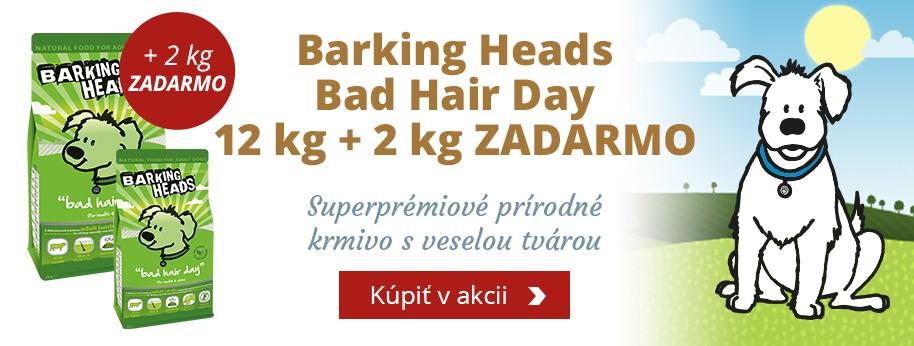 Barking Heads Bad Hair Dary 12kg + 2kg ZADARMO