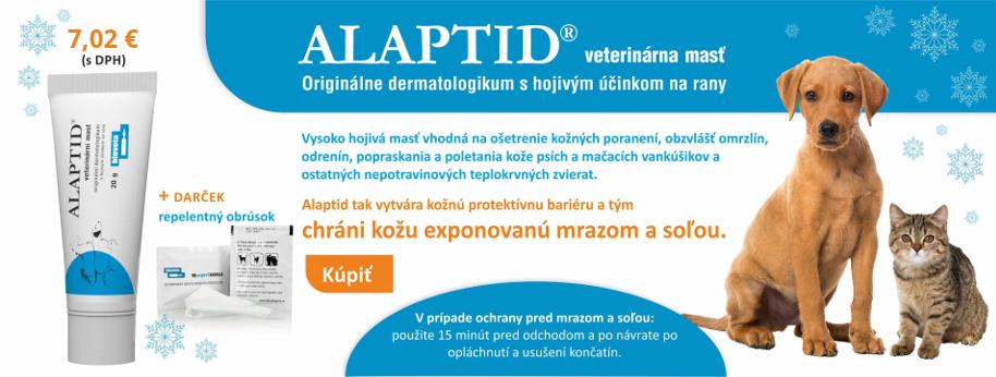 Novinka Alaptid + repelentný obrúsok