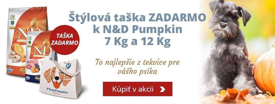 N&D Pumpkin + darček taška