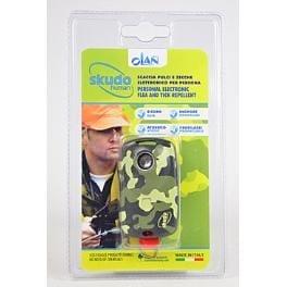 Elektr. odpuzovač klíšťat SKUDO HUMAN (maskáč)