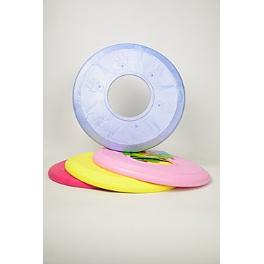 Hračka pes Disk MAX aport plávacie vanila. 18 cm SP