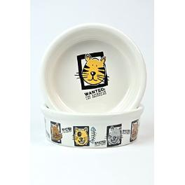 Miska keramická mačka s motívom mix 200ml 11cm TR