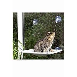 Odpočívadlo kočka okenní 51,5x31x2,5cm šedé KAR 1ks