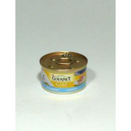Gourmet Gold konz. mačka jemná paštéta tuniak 85g