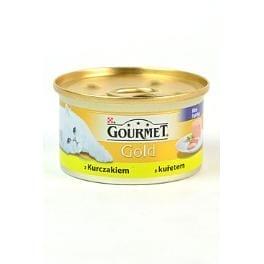 Gourmet Gold konz. mačka jemná paštéta s kuř.masem 85g