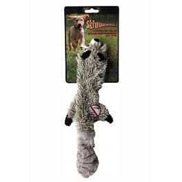 Hračka pes Mýval pískacie 38cm Skinneeez