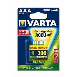 VARTA Baterie Rechargeable Accu AAA 1000 mAh R2U 2ks