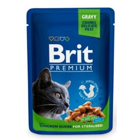 Brit Premium Cat kapsa Chicken Slices for Steril 100g