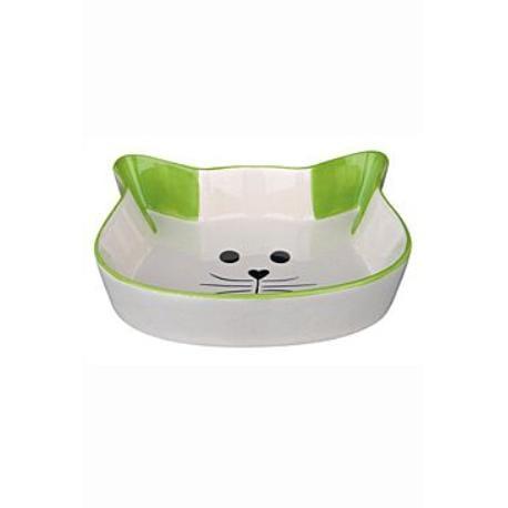 Miska keramická kočka-hlava 0,25ml 12cm TR*