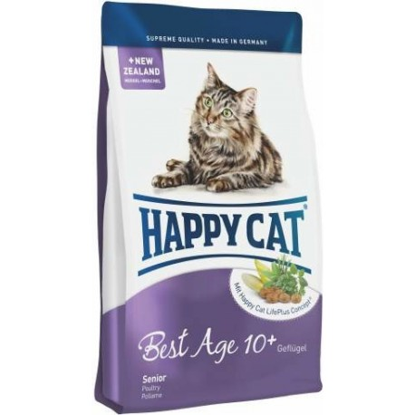 Happy Cat Supr.Adult Fit&Well Best Age(10+)Senior 4kg