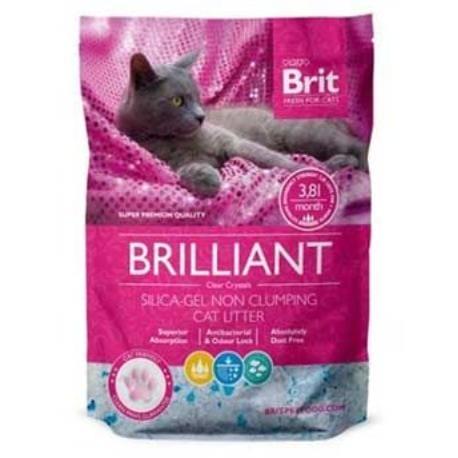 Brit Care podestýlka Brilliant Silica-gel 3,8l